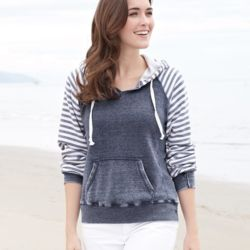 W15106 Ladies' Angel Fleece Sanded Piper Pullover Thumbnail