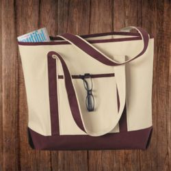 Q1500 34.6L Large Canvas Deluxe Tote Thumbnail